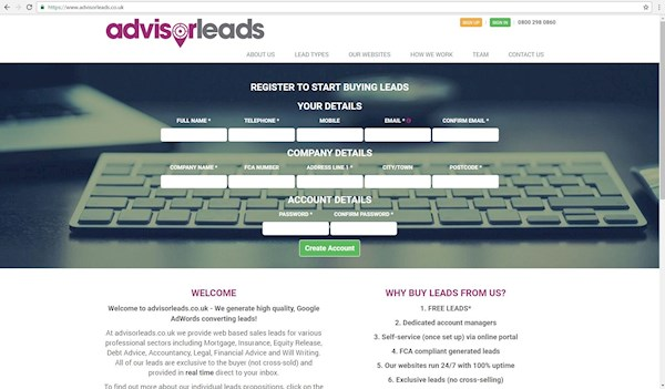 advisorleads.co.uk